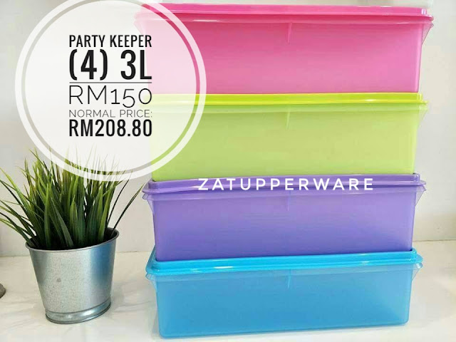 Tupperware Party Keeper (4) 3L