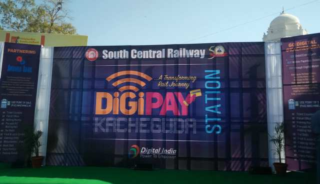South Central Railway launches Digi-Pay Station Campaign at Kacheguda