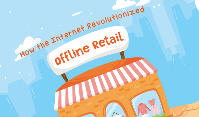 How The Internet Revolutionized Offline Retail - infographic