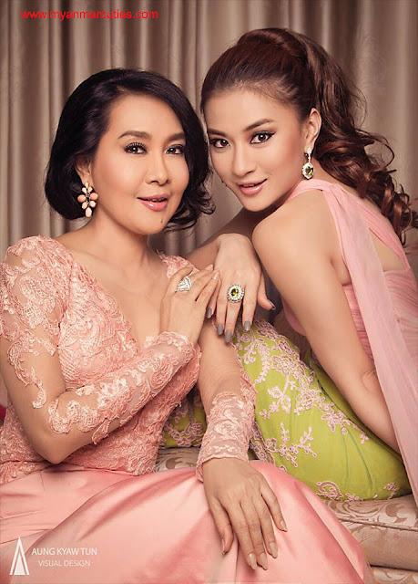 Moh Moh Myint Aung & Wutt Hmone Shwe Yi