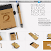 Photorealistic Block Notes Mockup