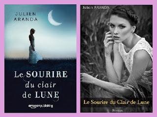 Portadas del libro La sonrisa del claro de luna, de Julien Aranda