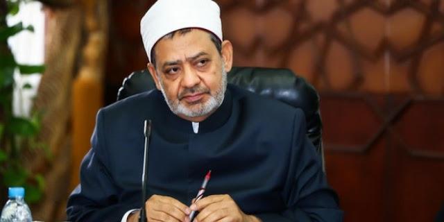 Gambar Imam Besar Al-Azhar Syaikh Ahmed al-Tayeb