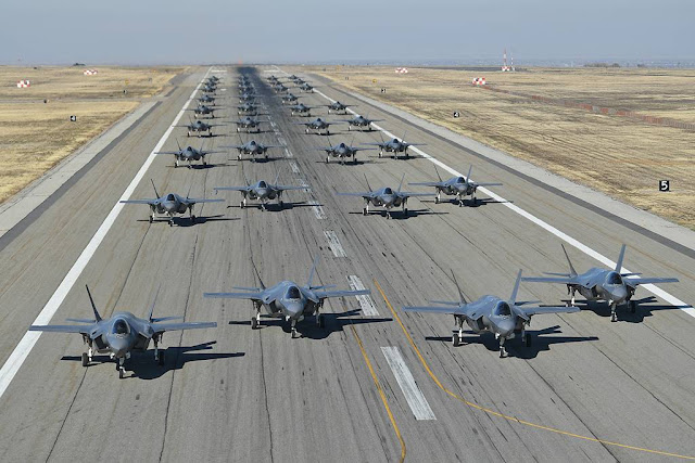 F-35A combat power exercise Hill