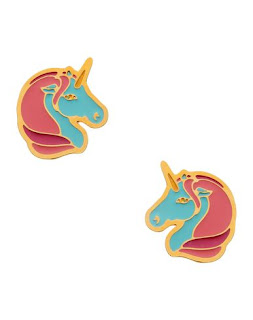 Princess Glam - Unicorn Studs - Emoji Jewellery