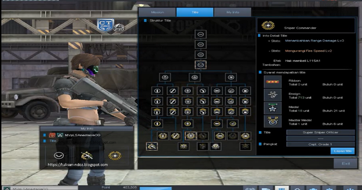 Title Point Blank P90 2 Slot
