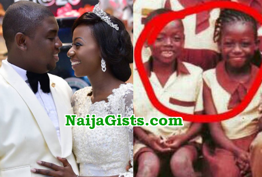 primary school friend weds lagos