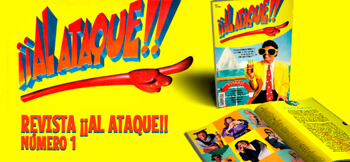 Revista ¡¡Al Ataque!! Nº 1