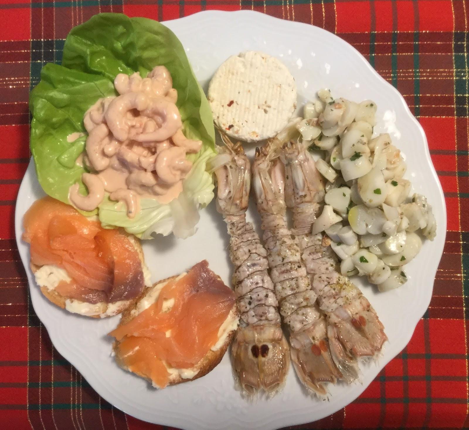 La Cucina Di Graziella Antipasti Vari Di Pesce Il Lesso Crostini