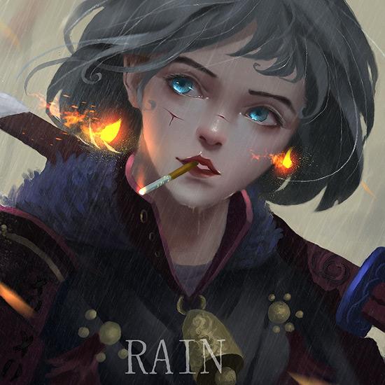 RAIN 93 Wallpaper Engine