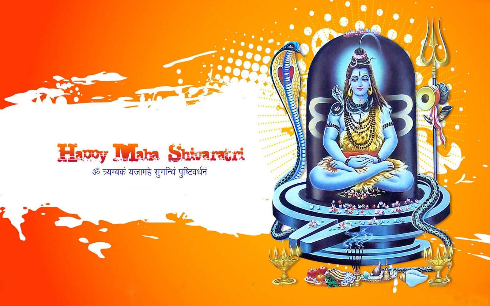 Maha Shivratri Desktop HD Wallpaper