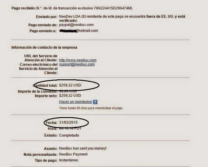 ganar dinero por internet - prueba pago 2