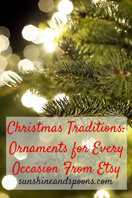 Christmas Traditions: Ornaments for Every Occasion From Etsy