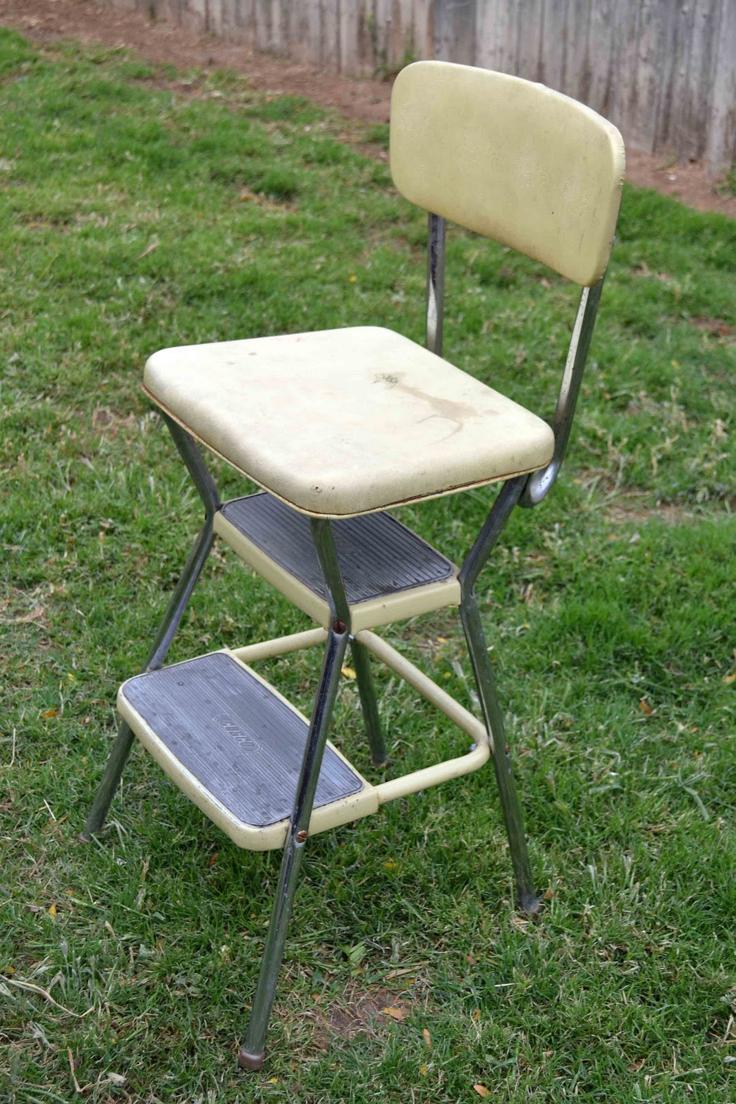 Babblings And More Step Stool Chair Makeover