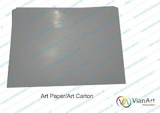kertas art paper / carton