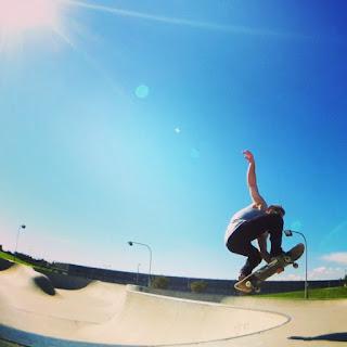 Mark Jansen Skateboarding Adelaide Flyout