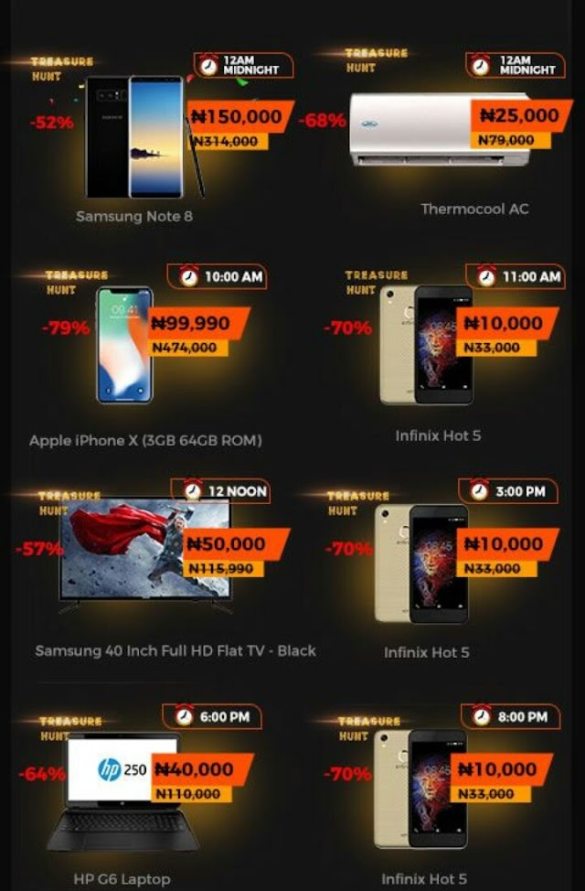 Are You Ready For Jumia Treasure Haunt Deal? Infinix Hot 5 For Just N10,000