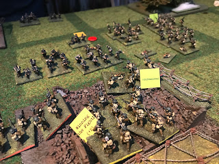 The Germans repulse the British attack