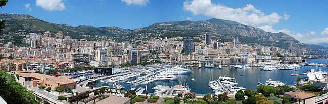 Monaco City - Panoramic view