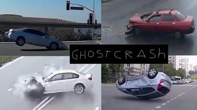 """Viral Video """"Ghost Crash"""" / Tabrakan Mobil Hantu, Ini Kisah Mengerikan Dibaliknya"""