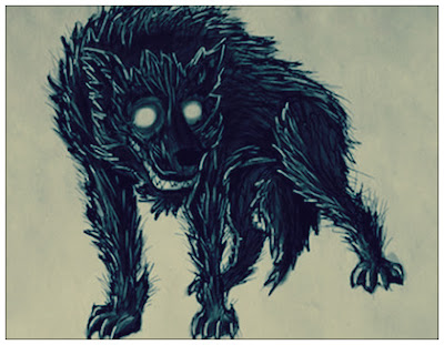 Dibujo del perro de Bungay