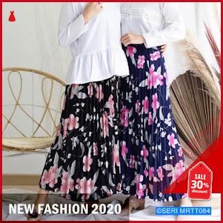 MRTT084R131 Rok Plisket Bangkok Delion Flower Skirt BMGShop