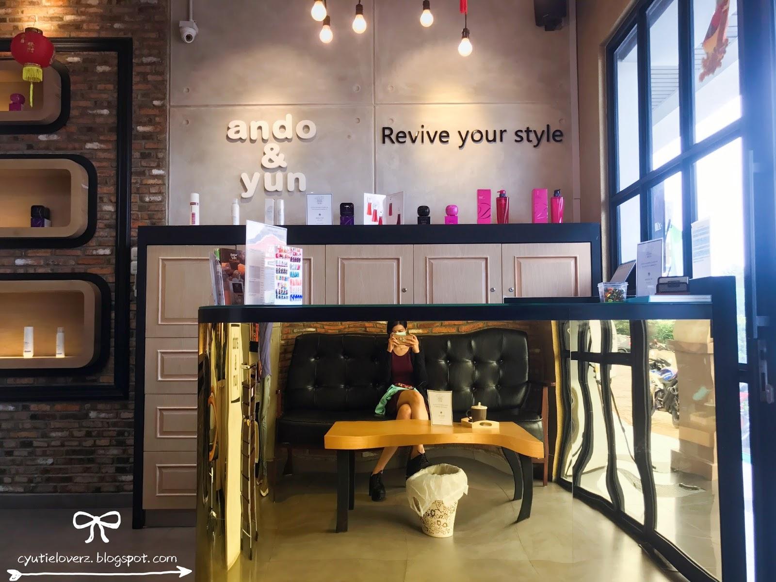 Ando And Yun Korean Salon Sunter Hair Cutting Amp Styling