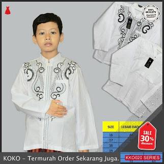 KKO20 ALH975 Baju Koko Motif Tanggung Untuk Anak Smp BMGShop