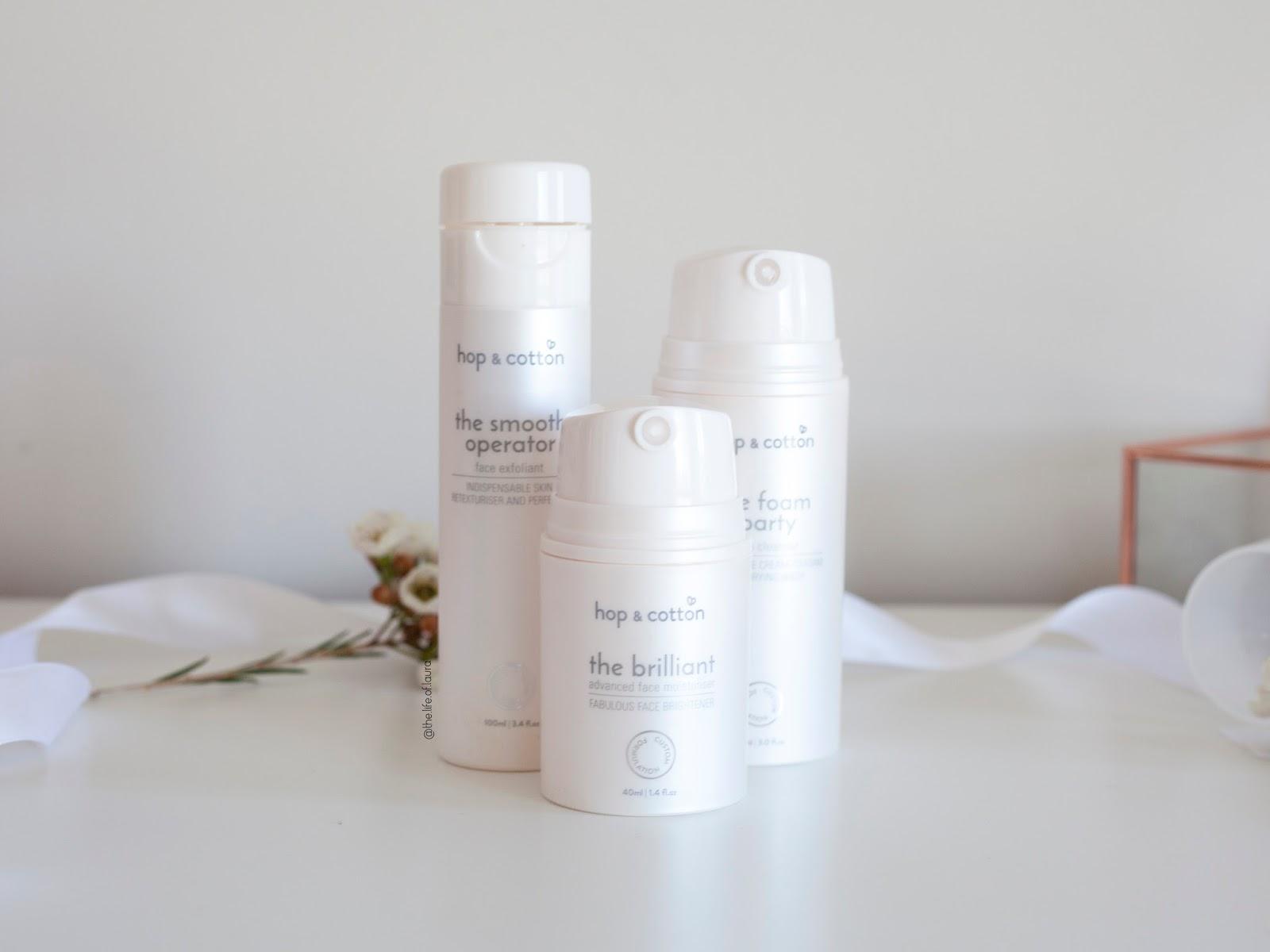 Hop & Cotton Customised Skincare