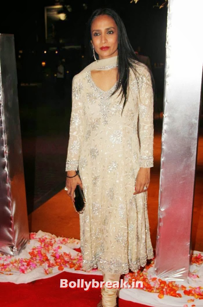 Suchitra Pillai, Siddharth Kannan & Neha Agarwal Wedding Reception Pics