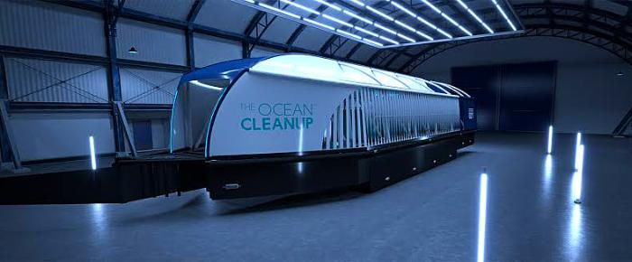 The Ocean Cleanup just released a new device to help clean up plastic in rivers before it reaches the ocean. So how does it work?