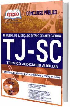 Apostila TJ-SC 2018 Técnico Judiciário Auxiliar