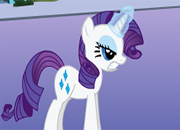 My Little Pony Rarity Spaguetti War juego