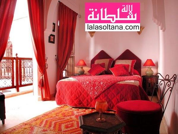 غرف نوم تقليدية مغربية