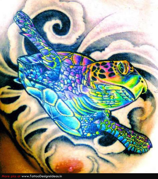 Turtle dove tattoo - photo#38