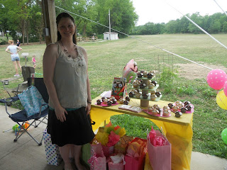 me at the babyshower