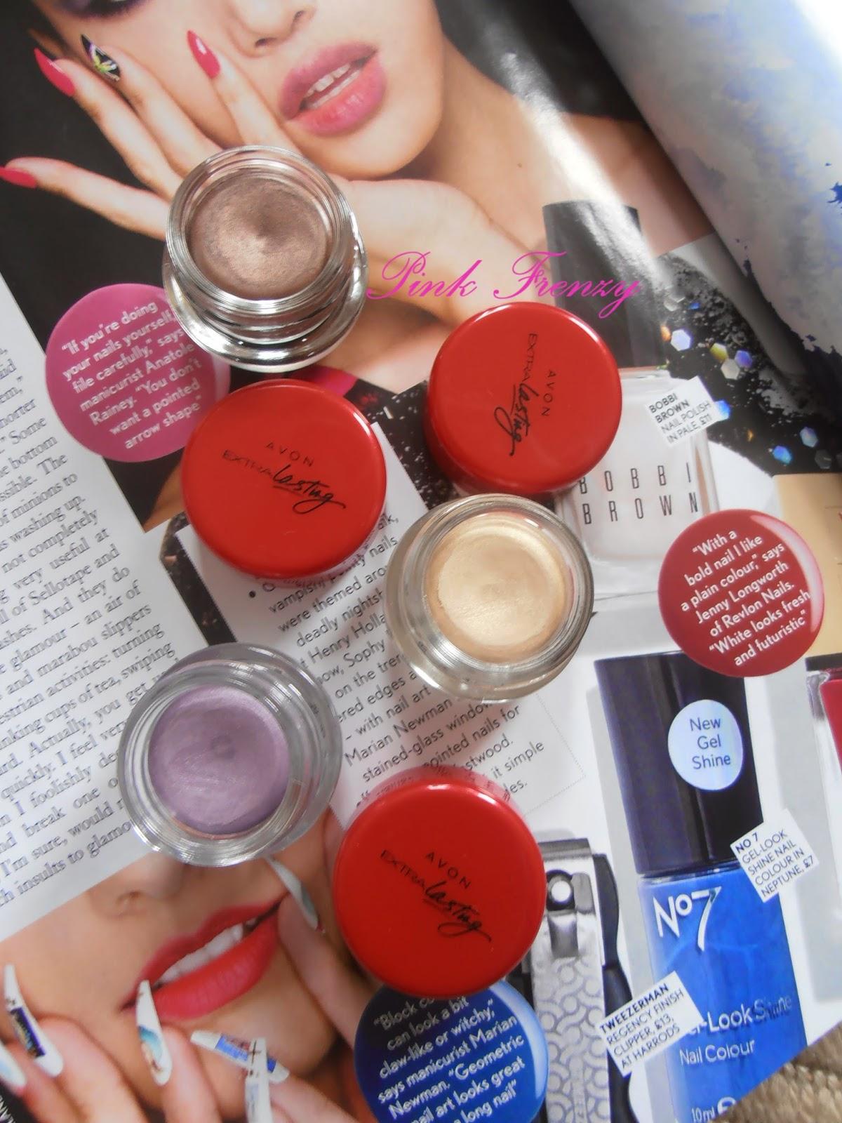 f17797f1213 Review: Avon Extra Lasting Eye Shadow Ink | Pink Frenzy | Bloglovin'