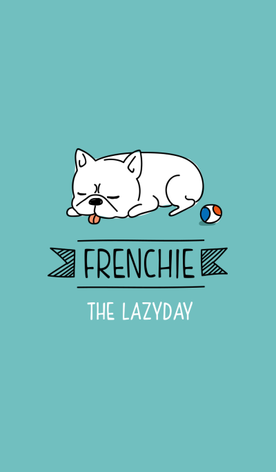 FRENCHIE-The lazy day-