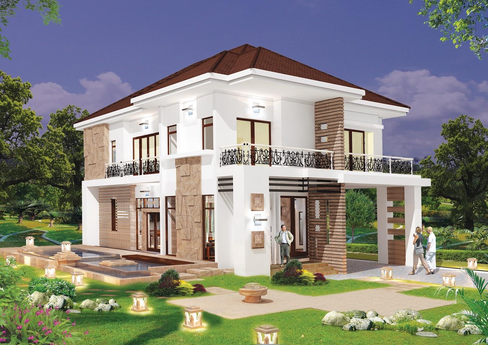 Modern villa design model 08 sam architect for Model villa moderne