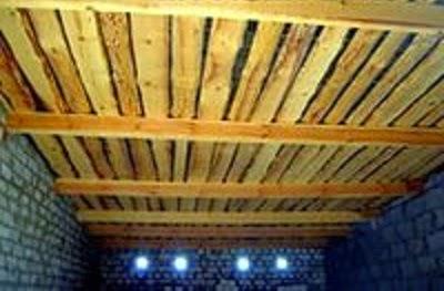 Как сделать односкатную крышу на гараже