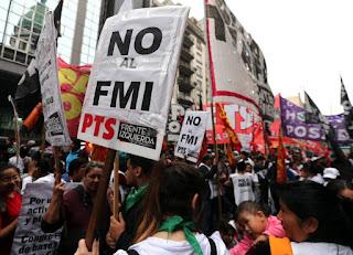 Αργεντινή: Διαδήλωση κατά της λιτότητας και του ΔΝΤ