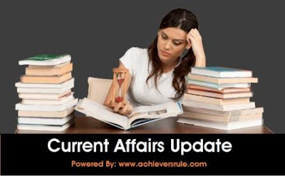 Current Affairs Update - 2nd and 3rd July 2017