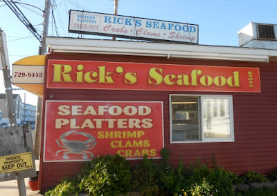 Rick's Seafood in Wildwood New Jersey