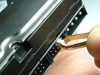 Cavalier sur le disque dur
