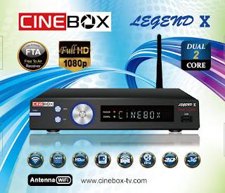 cinebox - ATUALIZAÇÃO DA ,MARCA CINEBOX CINEBOX%2BLEGEND%2BX