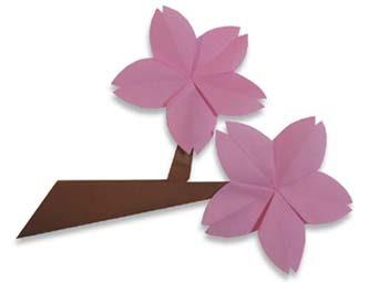 Origami Maniacs: Origami Cherry Blossom (Sakura) - photo#19