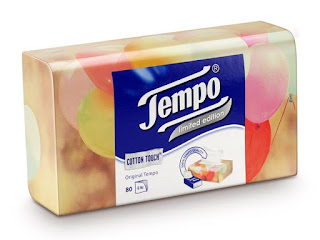 Tempo Facial Tissue Box