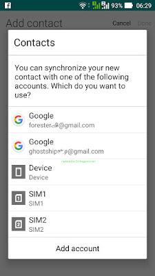 Amankan Nomor Kontak HP di Google