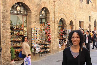Via San Giovanni in San Gimignano