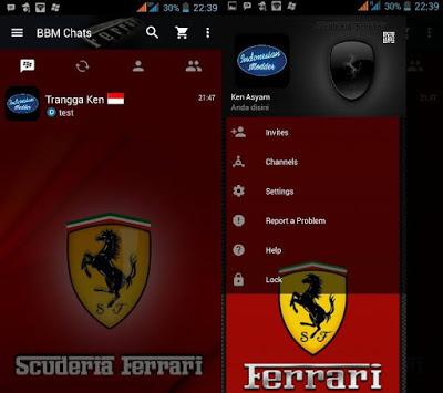 BBM Mod Mobil Ferrari Scuderia